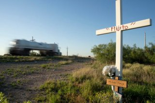Descanso for Michael Ponce on U.S. 285 Pecos Highway south of Loving..jpg