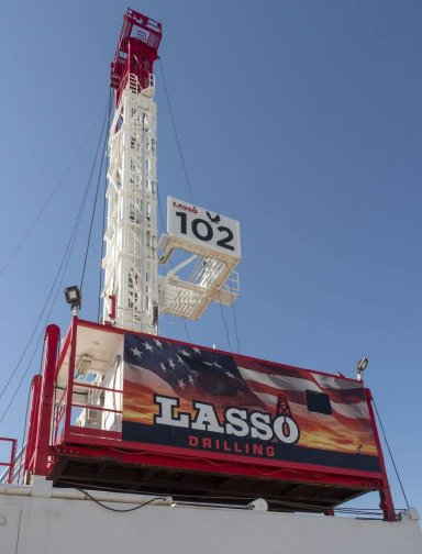 New  ulra portable drilling rig by Lasso Drilling