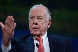Founder   Chairman  BP Capital Management T. Boone Pickens speaks at the 2016 Concordia Summit
