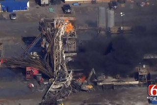 Quinton Oklahoma drilling rig explosion that killed 5