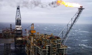 The number of workers operating the North Sea's platforms typically stands at about 11,500. Photograph: Danny Lawson/PA