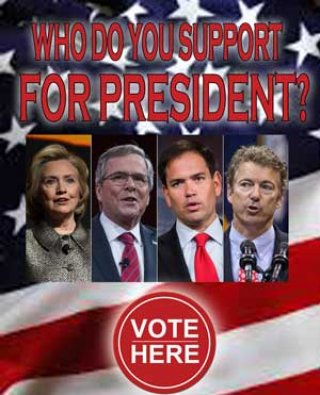 Who Do You Support For President?