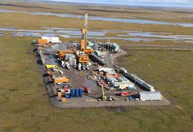 ConocoPhillips announced that development drilling has begun at its Colville Delta 5 drill site on the North Slope, the first oil development within the boundaries of the National Petroleum Reserve-Alaska