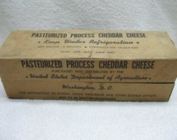 Commodity or Government Cheese