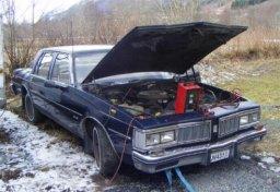 Oldsmobile Diesel Rig Car