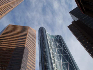 Cenovus expects to lay off 540 employees over the next few weeks, many working in the Bow tower in downtown Calgary.