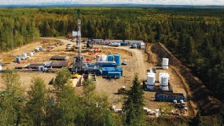 Athabasca Oil Corp Drill Site