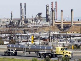 Chevron Refinery in Richmond California
