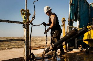 Drilling in the Permian Basin. Credit: Brittany Sowacke/Bloomberg