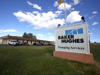 Baker Hughes Pressure Pumping on Southside River Road in Farmington laid off 67 workers on Tuesday citing low oil and gas prices on the commodities market.