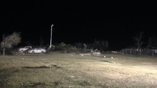 Pampa Texas Halliburton Plant Leveled By Tornado