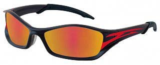 TB13R Graphite Frame-Red Tattoo-Fire Mirror Lens