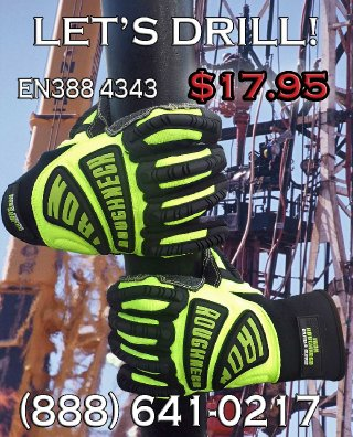 ron Roughneck Impact Gloves