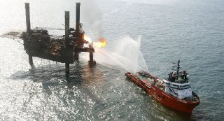 Two workers have died after fire broke out on the Gulf of Mexico's offshore Abkatun A oil platform belonging to the Mexican state-owned oil giant Pemex, the company said Sunday