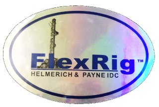H and P Flex Rig Sticker