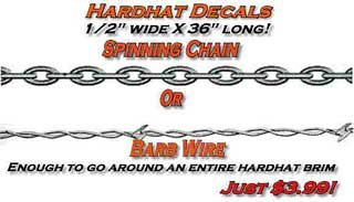 Select Spinning Chain or Barb Wire