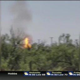Midland Texas Pipeline Explosion Injures 7
