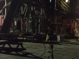 Rig Floor Collapse
