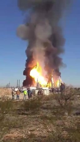 Gas Plant Explosion
