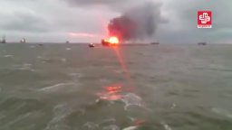 32 workers die after fire on Azeri oil platform