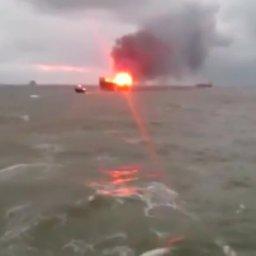 32 Oilfield Workers Dead After Fire On Azeri Oil Platform-Video