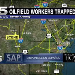 Trapped Oilfield Workers Rescued