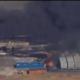 Oklahoma Gas Well Explosion-RAW VIDEO
