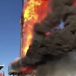Patterson UTI Rig #219 Explodes in Eastern Oklahoma